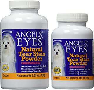 product image for Angels' Eyes Natural Tear Stain Elimination and Remover, Chicken Flavor, 225 gram
