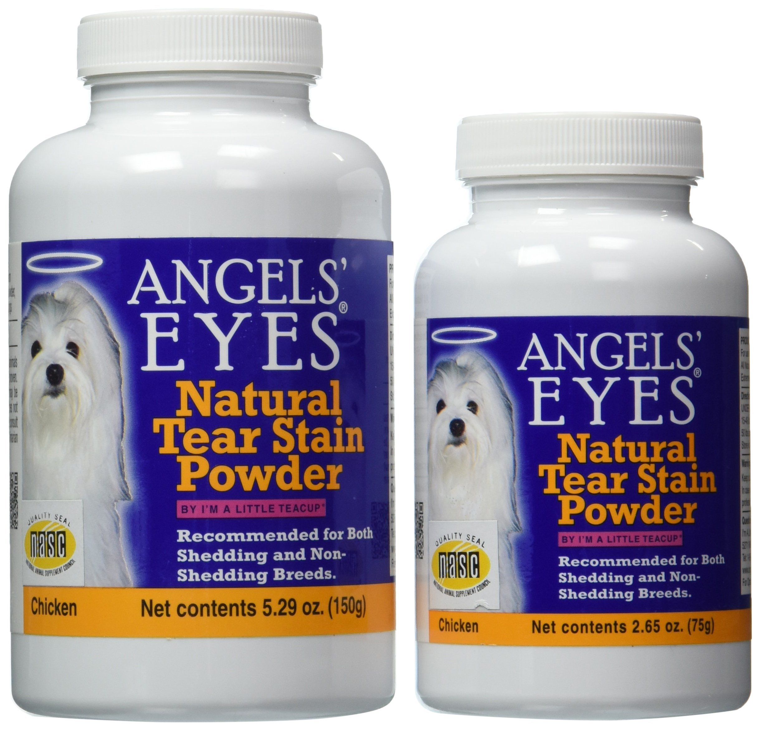 Angels' Eyes Natural Tear Stain Elimination and Remover, Chicken Flavor, 225 gram