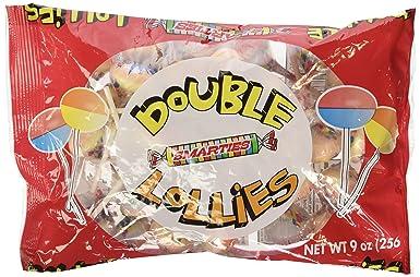 Smarties Double Lollies, 9oz Bag