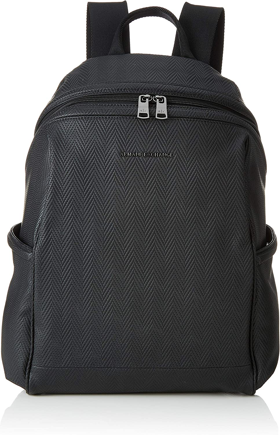 AX Armani Exchange Men's Boxy Zippered Backpack