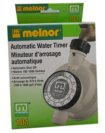 Amazoncom Flowmeter Water Timer Garden Hose Parts Patio