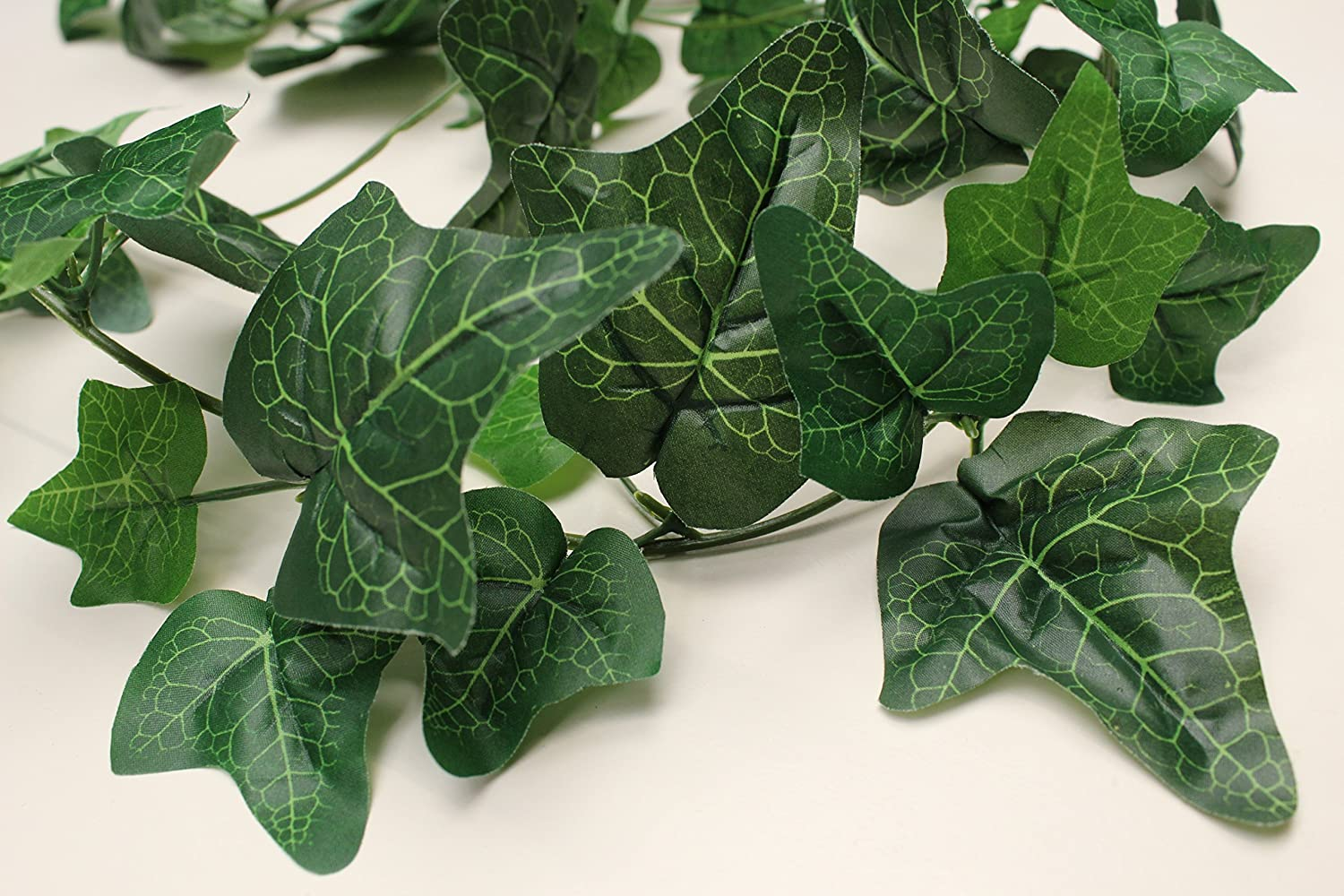 New 6ft Long Berried Varigated Ivy Garland Silk Flowers Shades Quality!