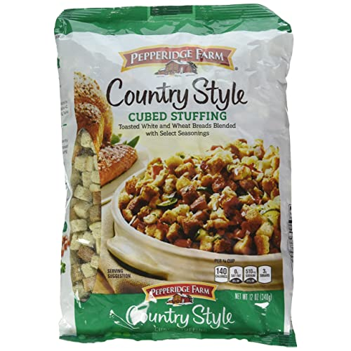 Amazon Com Pepperidge Farm Country Style Cubed Stuffing 12oz