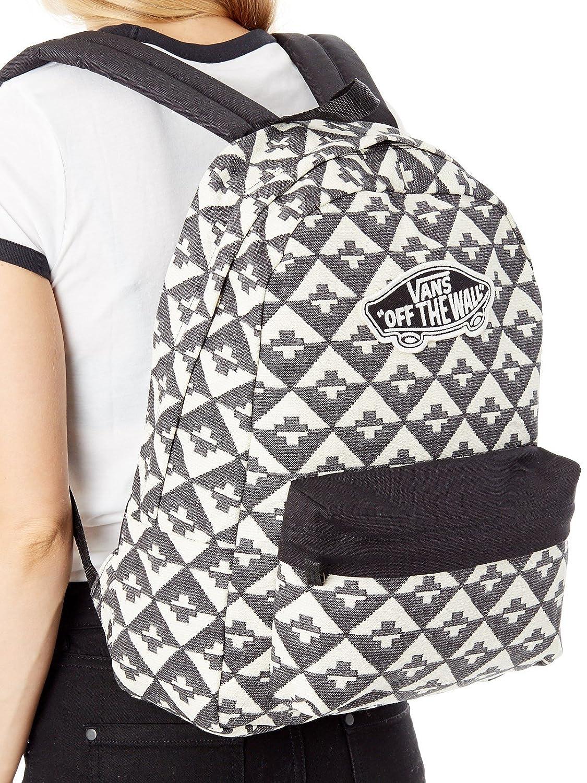 6b0494f622f Unica Backpack Surf co Amazon Blanco uk Vans Geo Realm Sports Xqn7BB