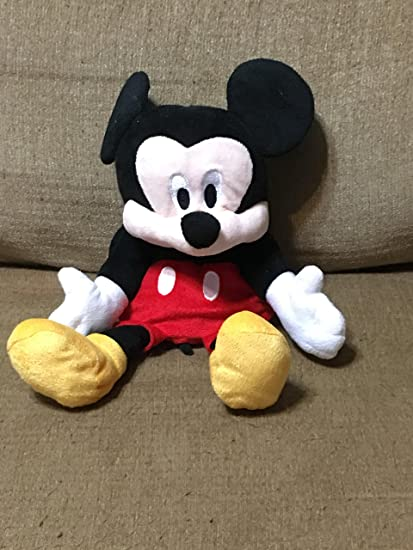8ac017e34cf Image Unavailable. Image not available for. Color  Disney Baby Mickey Mouse  Hand Puppet Plush