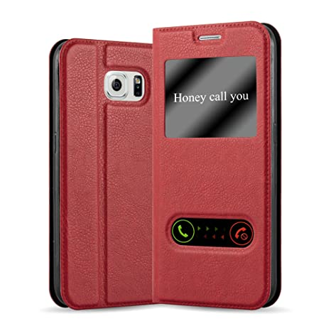 coque rouge galaxy s6