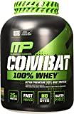 MusclePharm Combat 100% Whey Protein Powder, Cappuccino, 5 Pound