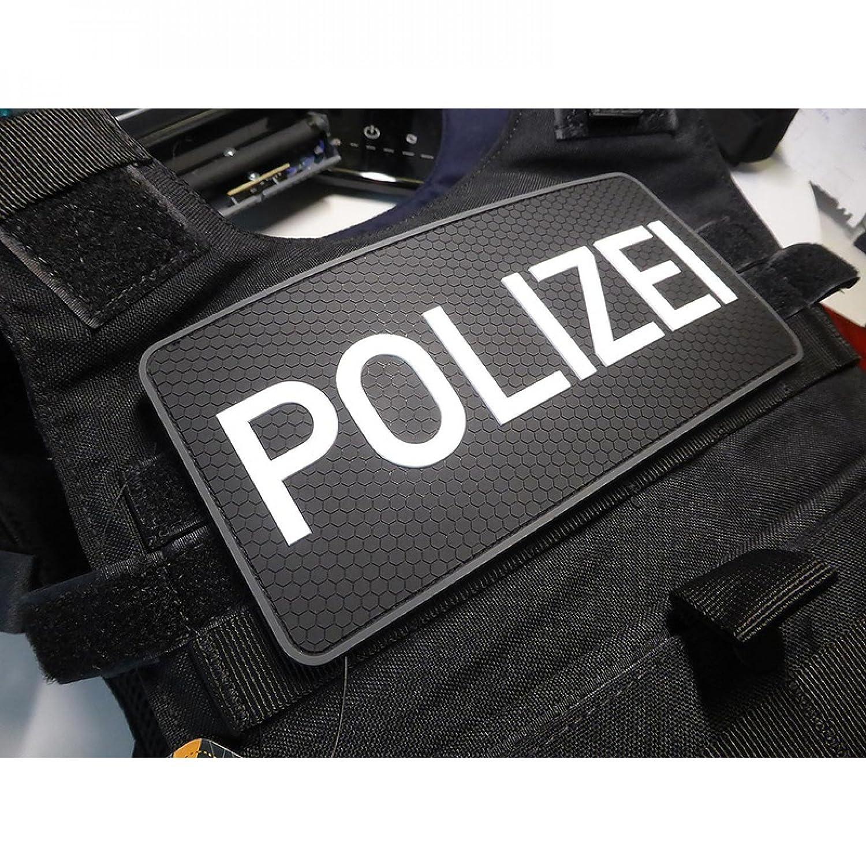 swat Rubber Patch R/ückenschild Polizei