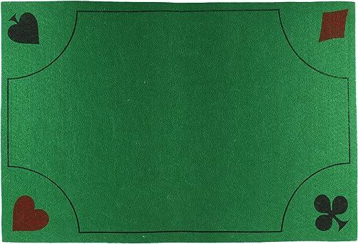tapis de jeu de carte Mister Gadget JE5276 Tapis de Jeu de Carte *Modèle Aléatoire