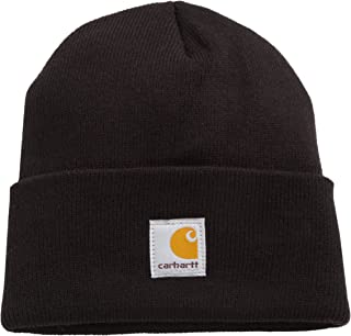 product image for Carhartt Boys' Acrylic Watch Hat, Caviar Black, One Size