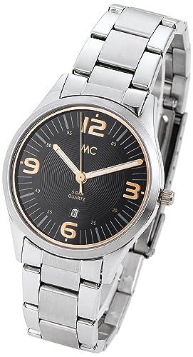 MC time Trend para mujer-reloj acero analógico de cuarzo 51451: Amazon.es: Relojes
