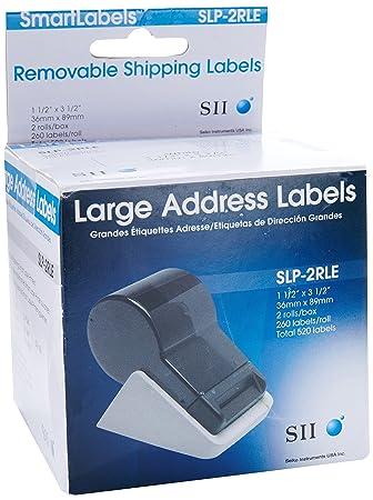 Seiko Large Single Address Labels For Smart Label Printer Pro  Large Mailing Labels