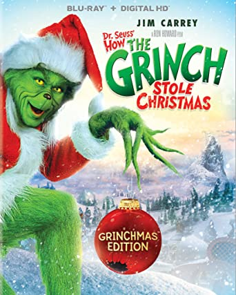 Dr. Seuss' How The Grinch Stole Christmas - Grinchmas Edition (Blu-ray + DIGITAL HD)