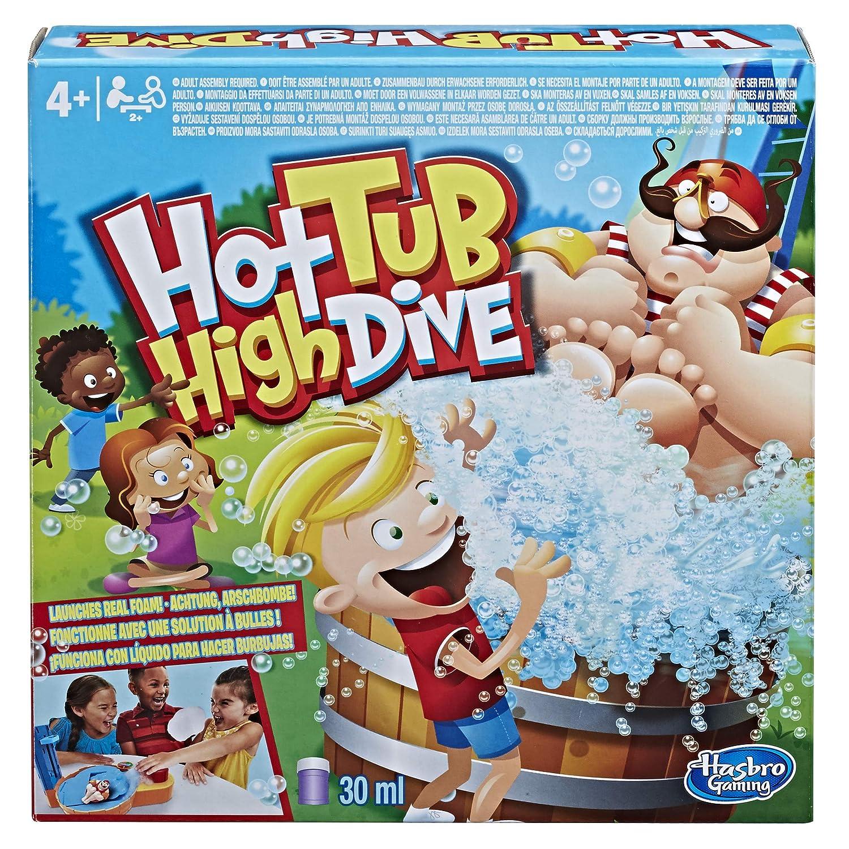 円高還元 B07D52H59Y子供用ボードゲームのための泡が付いているHasbroの賭博の温水浴槽の高い飛び込みのゲーム B07D52H59Y, 岸本町:aeae7b28 --- arianechie.dominiotemporario.com