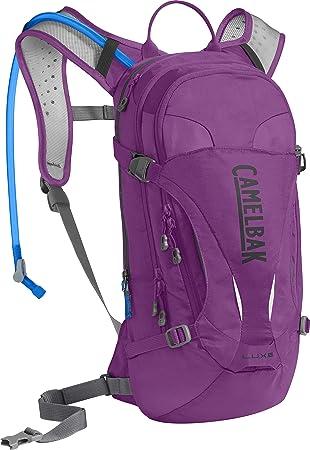 CamelBak Luxe Mochila de Hidratación, Mujer, Morado (Light Purple/Charcoal), Talla Única: Amazon.es: Deportes y aire libre