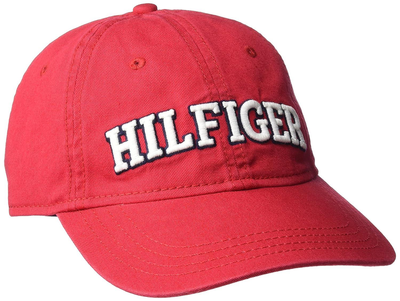Amazon.com: Tommy Hilfiger de los hombres gorra de béisbol ...