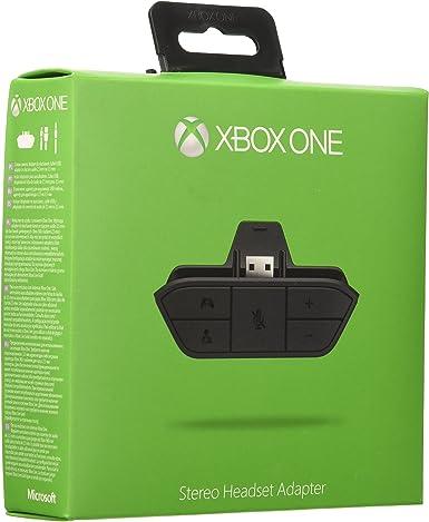 Microsoft - Adaptador Headset - Reedición (Xbox One): Amazon.es ...