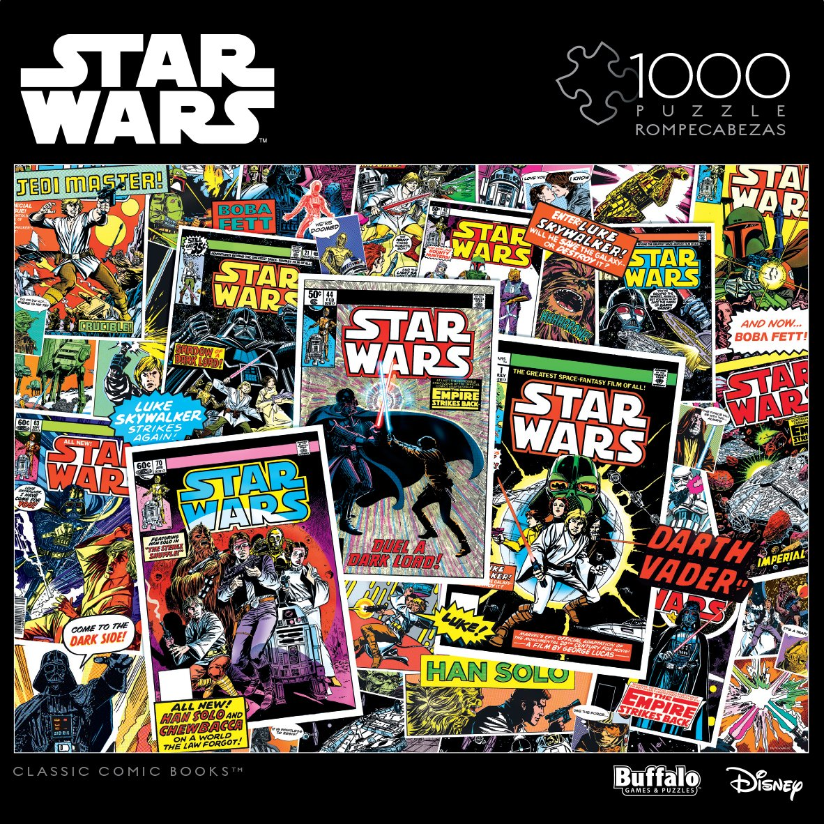 Star Wars - Classic Comic Books - 1000 Piece Jigsaw Puzzle