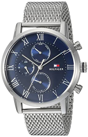 9690ee5b Image Unavailable. Image not available for. Color: Tommy Hilfiger Men's  Sophisticated Sport Quartz Watch with Stainless-Steel Strap ...