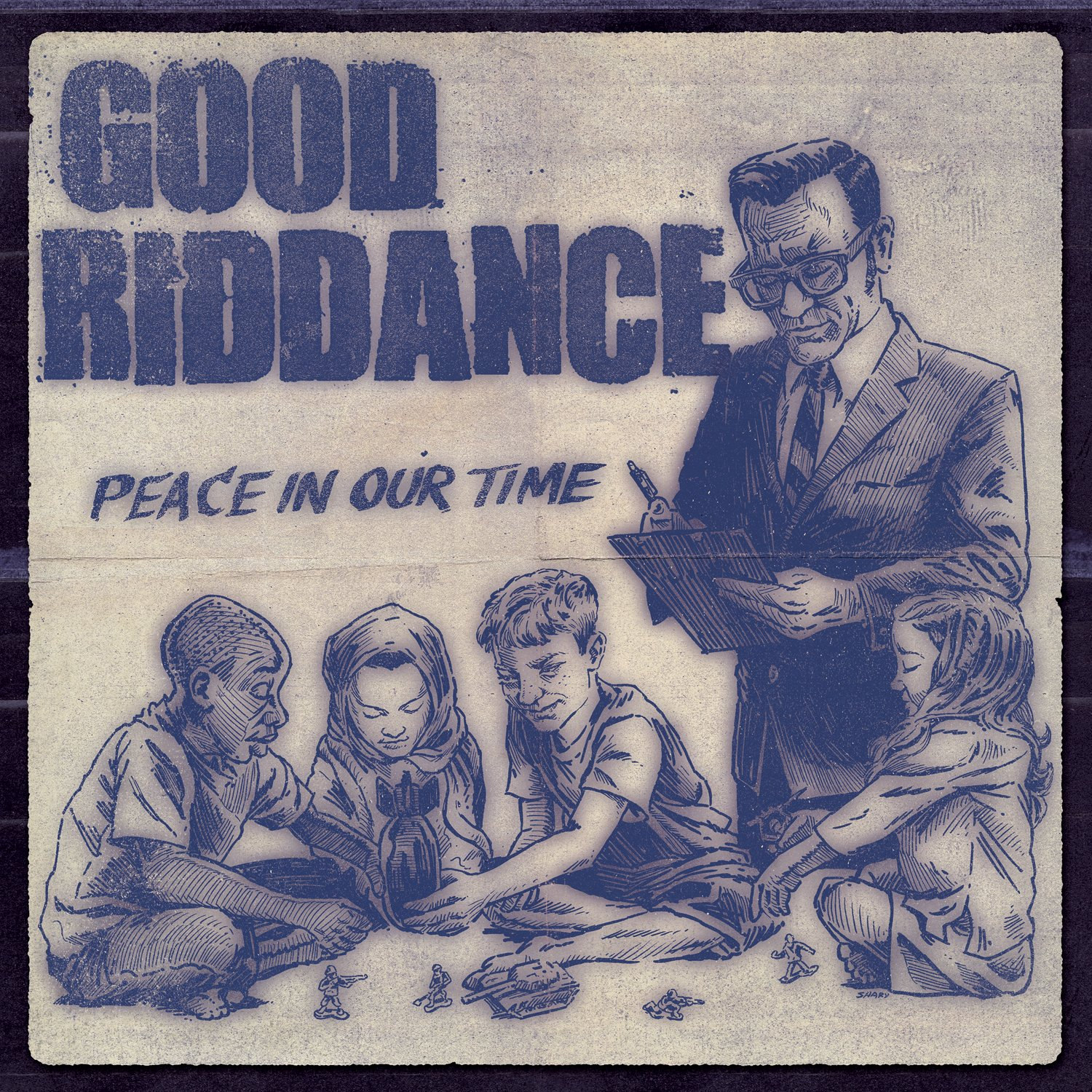 CD : Good Riddance - Peace In Our Time (CD)