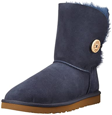 UGG Australia Women's Bailey Button Navy - Medium / 5 B(M) US