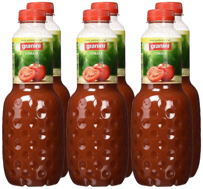 Granini - Zumo Tomate - 1 L - , Pack de 6: Amazon.es: Alimentación y bebidas