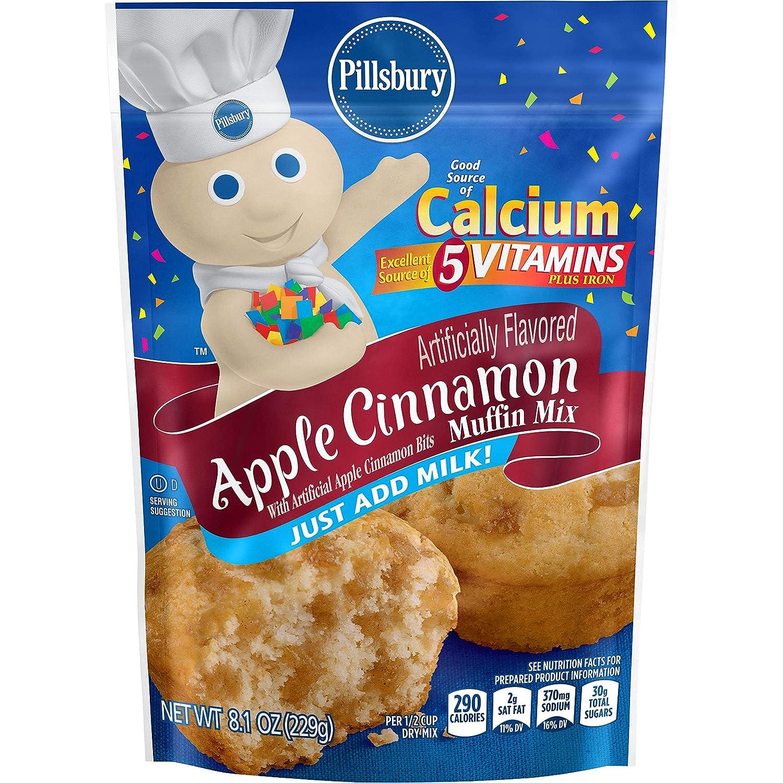 Pillsbury Apple Cinnamon Muffin Mix, 8.1 Ounce