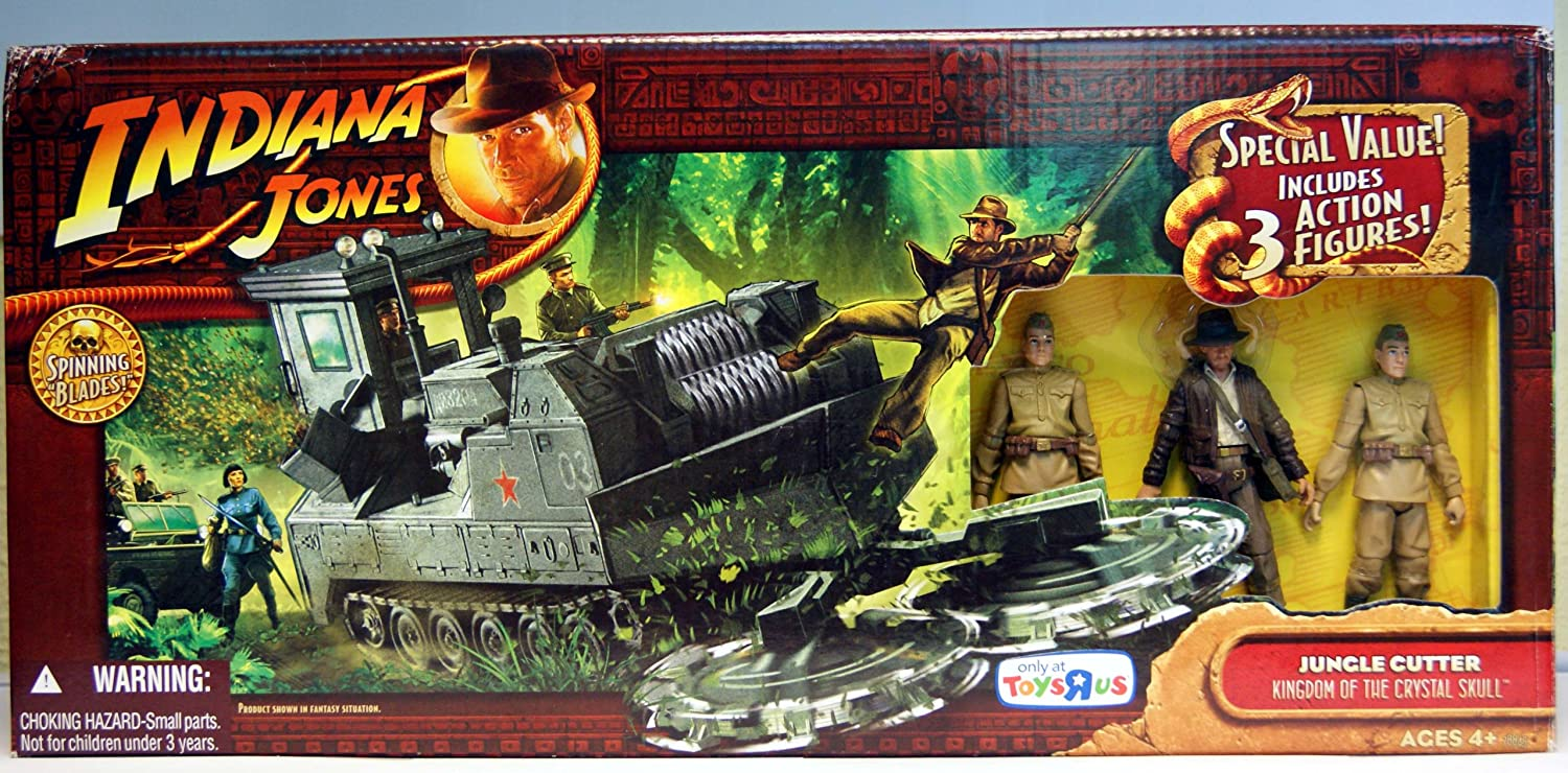 Indiana Jones - Jungle Cortador Reino de la Calavera de Cristal ToysRus Exclusivo: Amazon.es: Juguetes y juegos