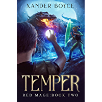 Temper: An Apocalyptic LitRPG Series (Red Mage Book 2) (English Edition)