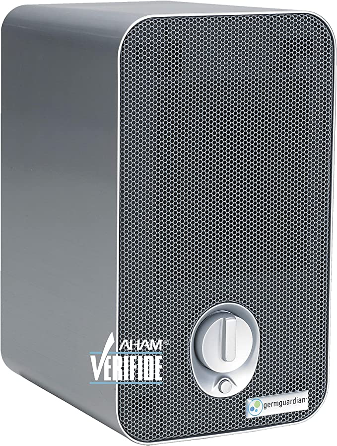 Germ Guardian HEPA Filter Air Purifier with UV Light Sanitizer, Eliminates Germs, Filters Allergies