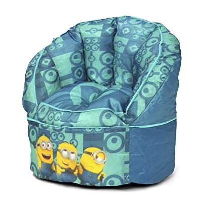 Universal Minions Toddler Bean Bag Chair, Teal: Toys & Games