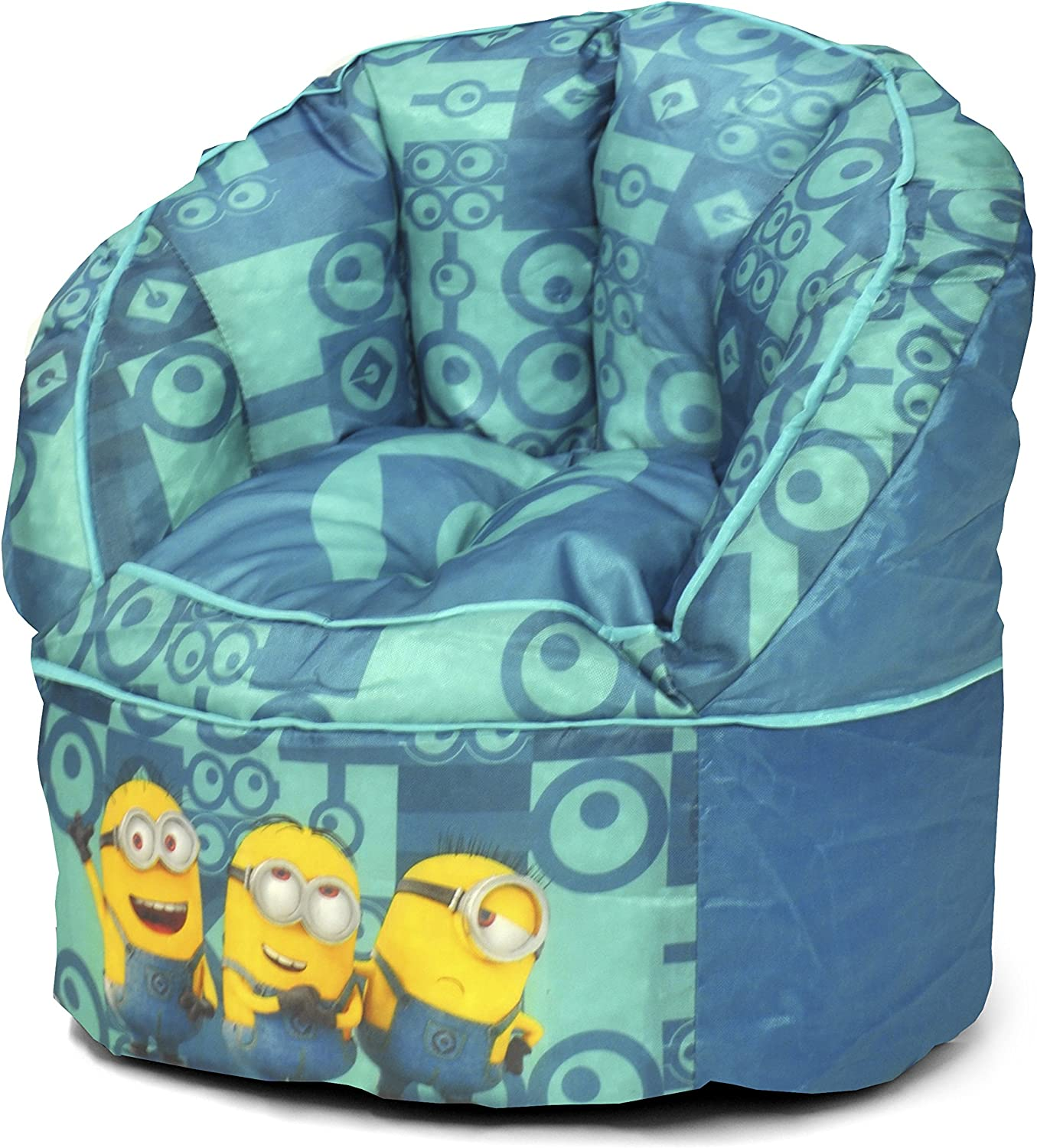 Universal Minions Toddler Bean Bag Chair Teal Idea Nuova WK430192