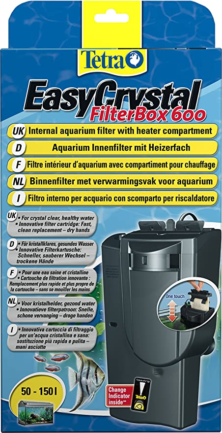 Tetra EasyCrystal Filter Box 600 Aquarium-Innenfilter, mit ...