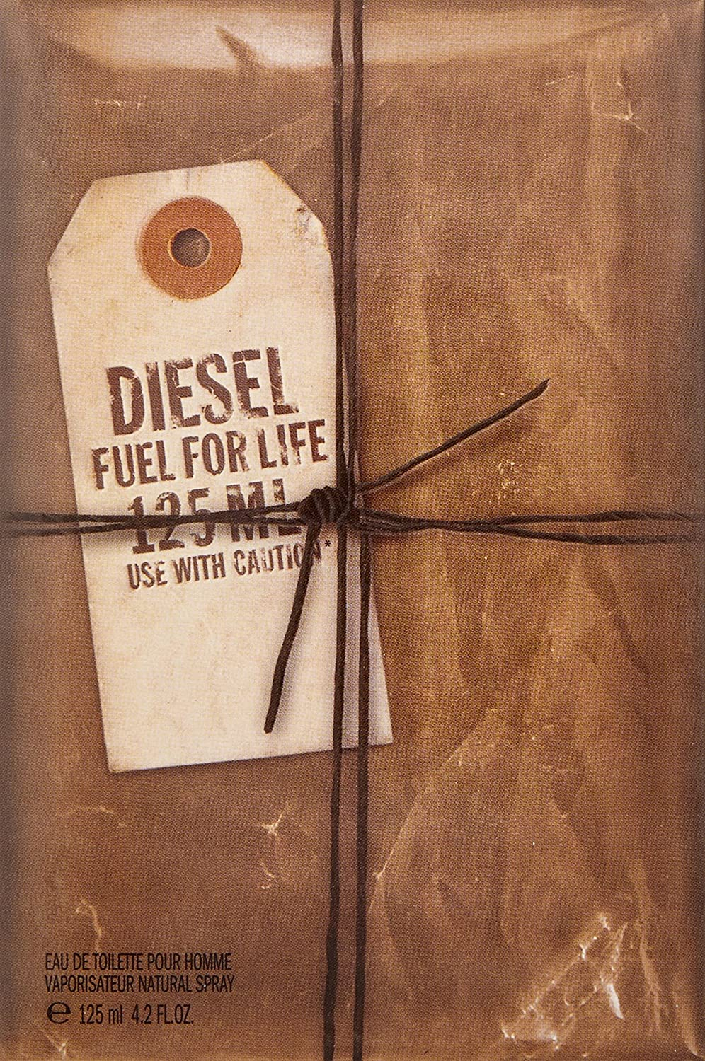Diesel Fuel for Life Eau de Toilette Spray for Men, 4.2 Ounce