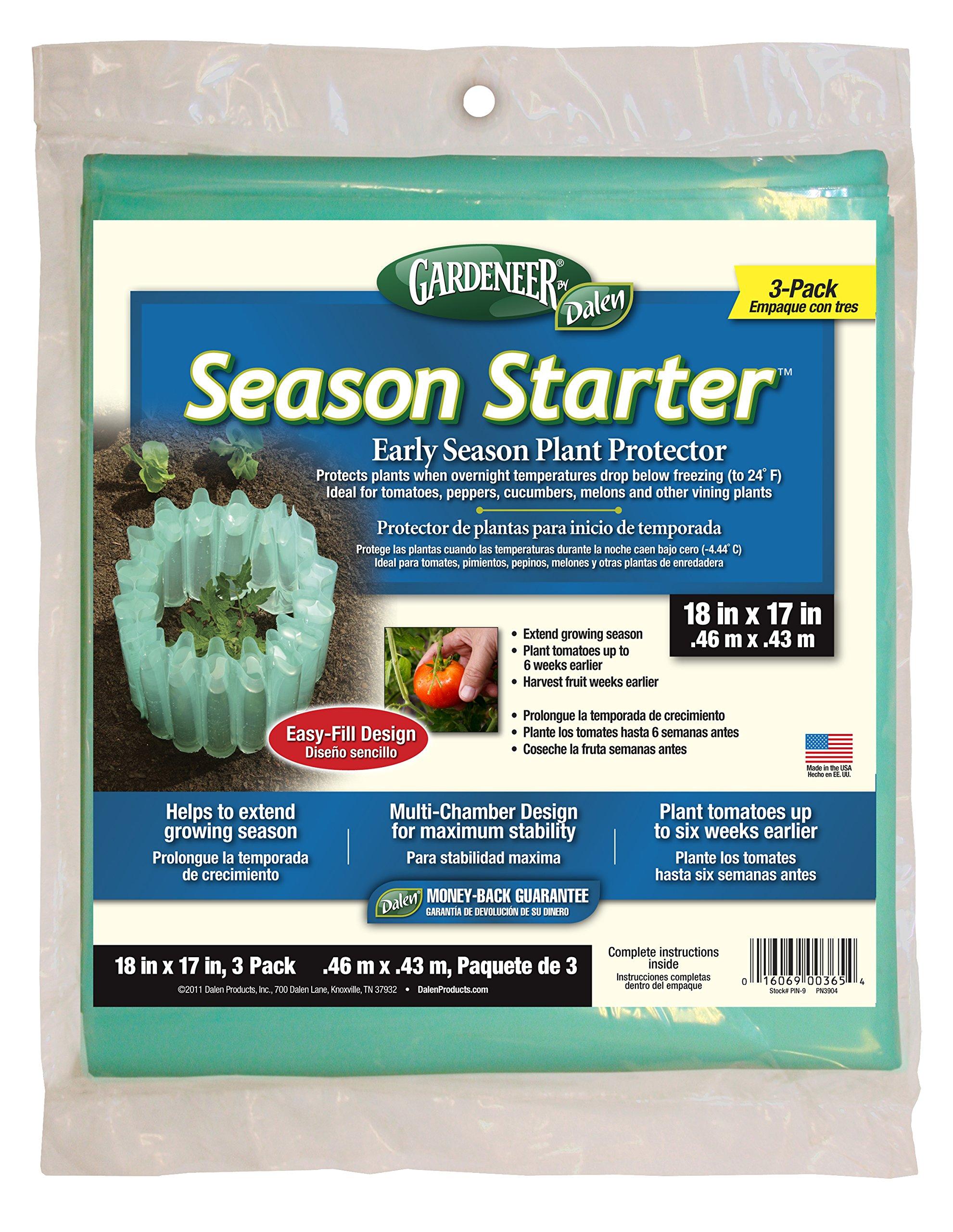 Dalen Gardeneer By Season Starter Early Season Plant Protector 18'' x 17'' (3 Pack)