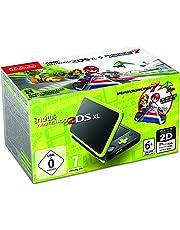 Nintendo Handheld Console - New Nintendo 2DS XL - Black and Lime Green - Pre-installed with Mario Kart 7 - Nintendo 3DS [Edizione: Regno Unito]