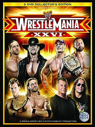 WWE - Wrestlemania 26 [Reino Unido] [DVD]: Amazon.es: John Cena, Triple H, Shawn Michaels, The Undertaker, Bret Hart, John Cena, Triple H: Cine y Series TV