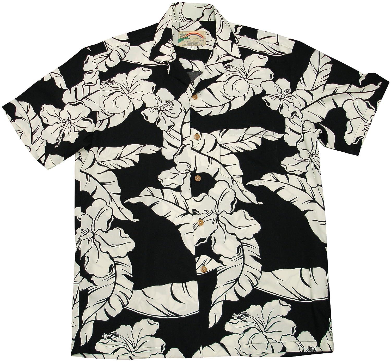 e17f3900 Paradise Found Mens Hibiscus Pareau Shirt at Amazon Men's Clothing store: