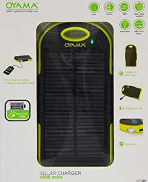 chargeur solaire oyama oy380