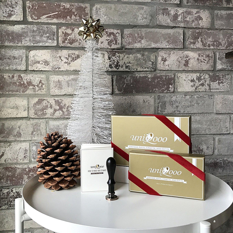 ideal para regalar Juego de sello de cera Uniqooo Arts /& Crafts The Tree of Life