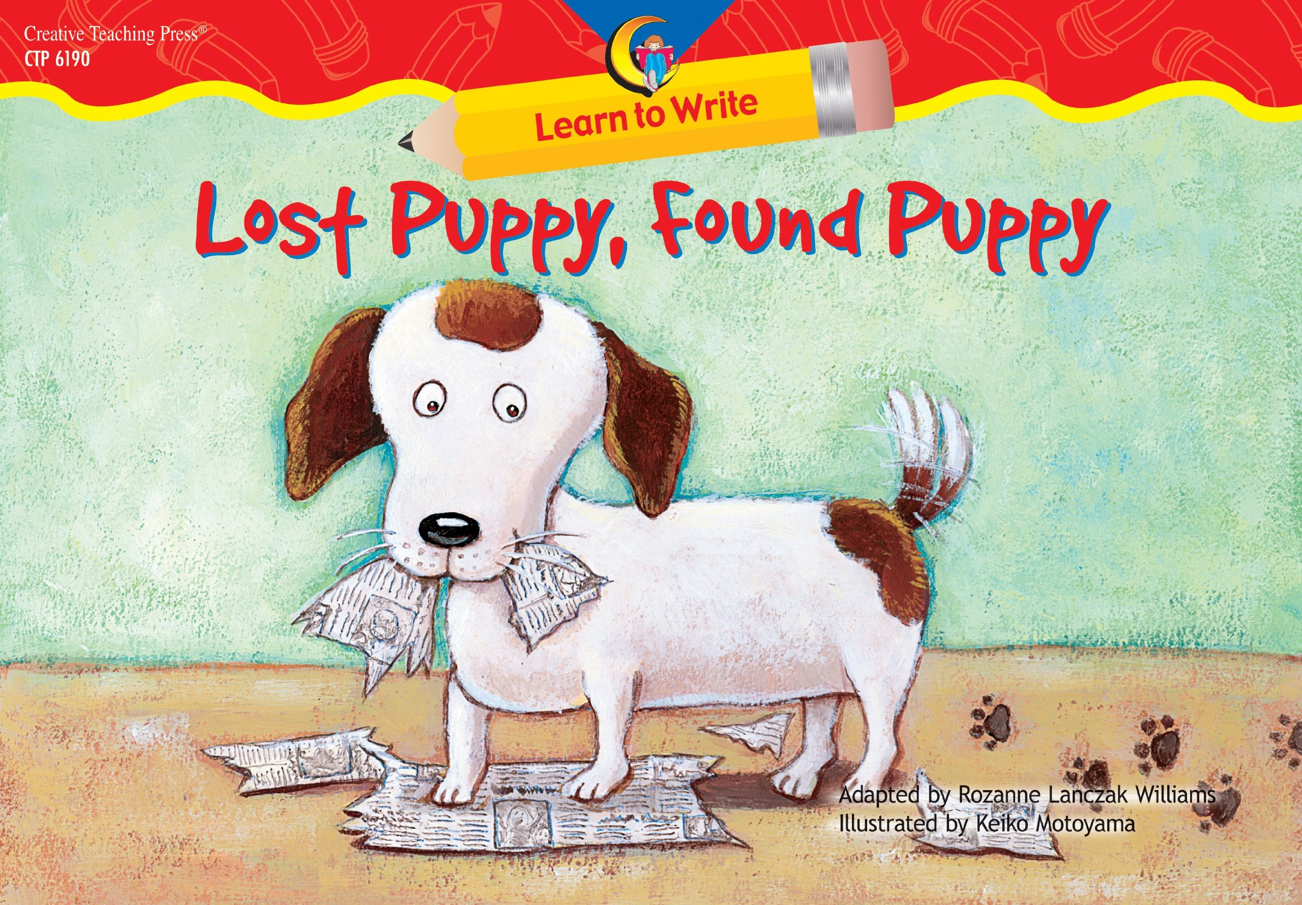 Download Lost Puppy, Found Puppy Learn to Write Reader (Learn to Write Readers) pdf epub