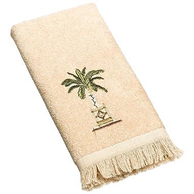 Avanti Linens Banana Palm Fingertip Towel, Linen
