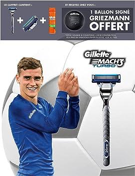 Gillette Edition limitada Griezmann – Coffret afeitadora Mach3 ...
