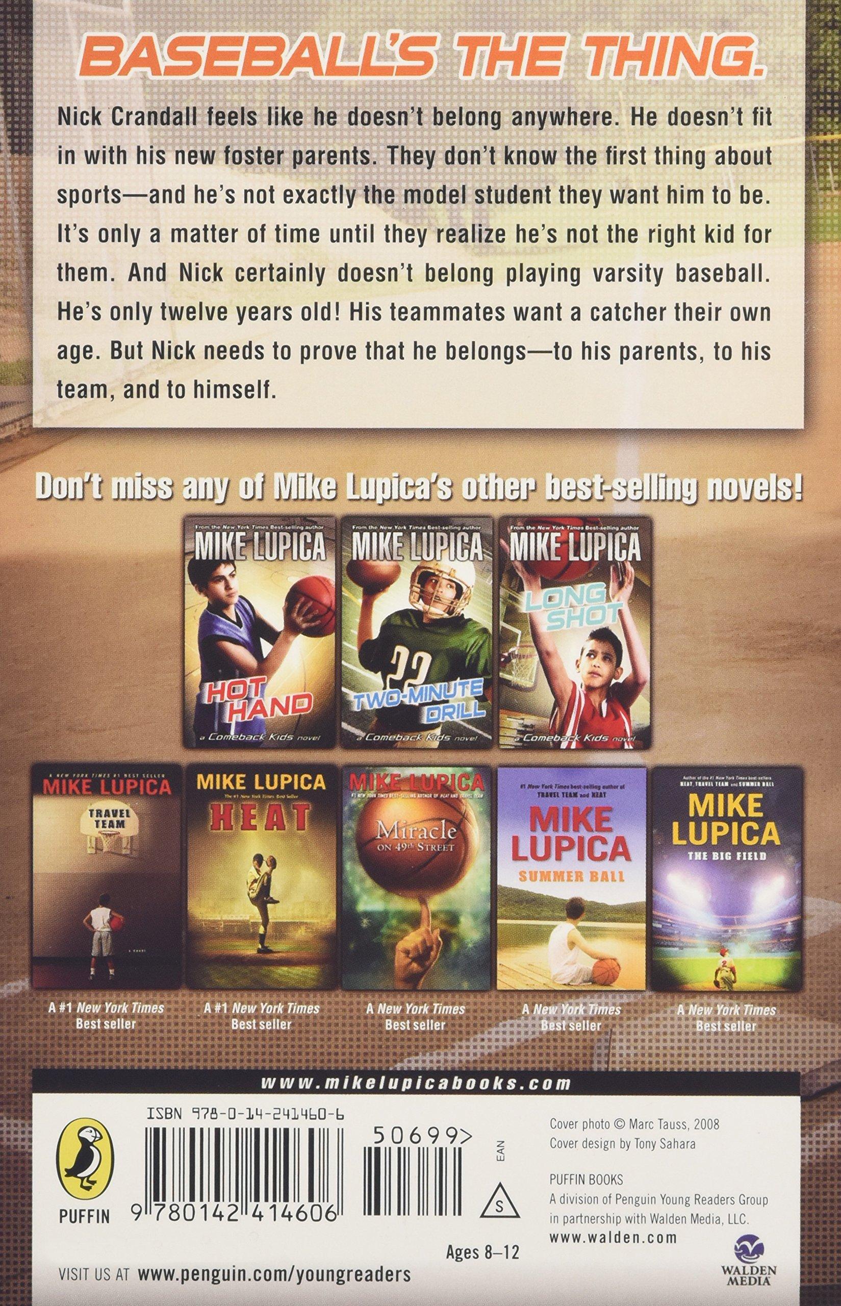 Safe At Home (comeback Kids): Mike Lupica: 9780142414606: Amazon: Books