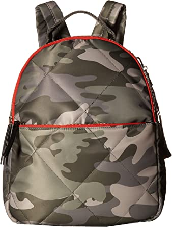 365069ea0260 Amazon.com  Tommy Hilfiger Women s Kensington Camo Nylon Backpack Green One  Size  Clothing