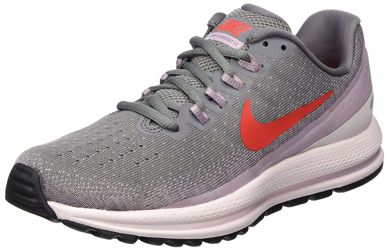 Nike Wmns Air Zoom Vomero 13, Zapatillas de Running para Mujer 36.5 EU|Gris (Gunsmoke/Habanero Red-elemental Rose 004)