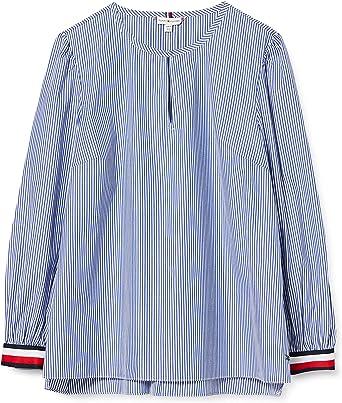 Tommy Hilfiger Danna Top LS Camisa para Mujer: Amazon.es: Ropa y accesorios