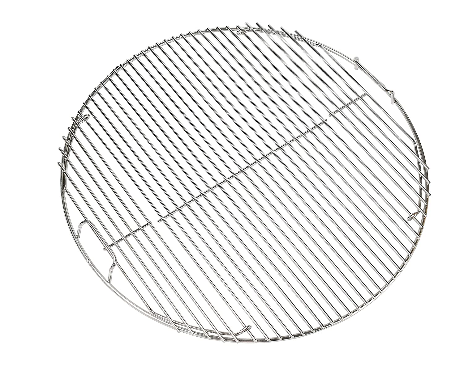 304 Stainless Steel Hinged Cooking Grate for 22.5 inch Weber Charcoal Grills