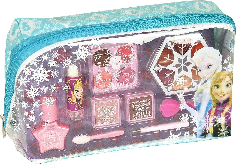 Disney Frozen-9341110 Frozen neceser con maquillaje, 20.6 x 12.4 x 4.6 (Markwins 9341110): Amazon.es: Juguetes y juegos