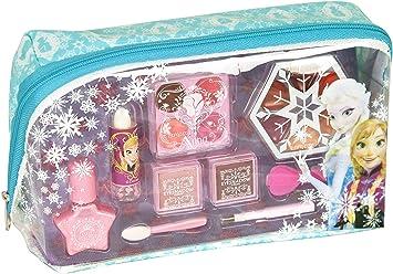 Markwins Disney Frozen Kosmetiktäschchen mit Reißverschluss, 1er Pack (Schminktasche mit Beauty-Produkten für Augen und Lippe